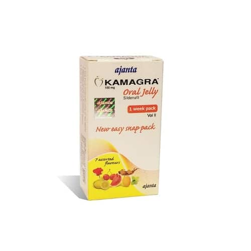 Kamagra Oral Jelly 100 мг (Камагра желе)
